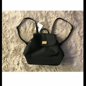 Calvin Klein NYLON BACKPACK Black New With Tags
